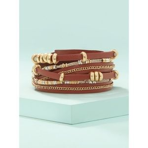 Stella and Dot Maize Wrap Bracelet